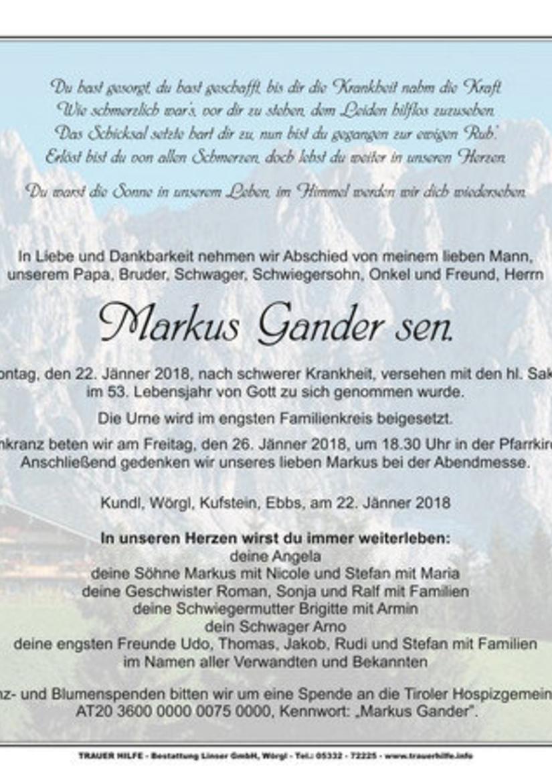 Markus Gander sen.