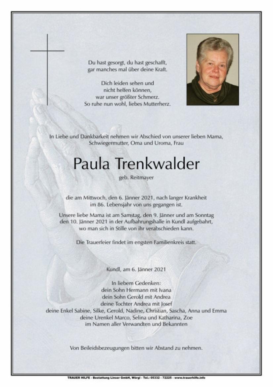 Paula Trenkwalder