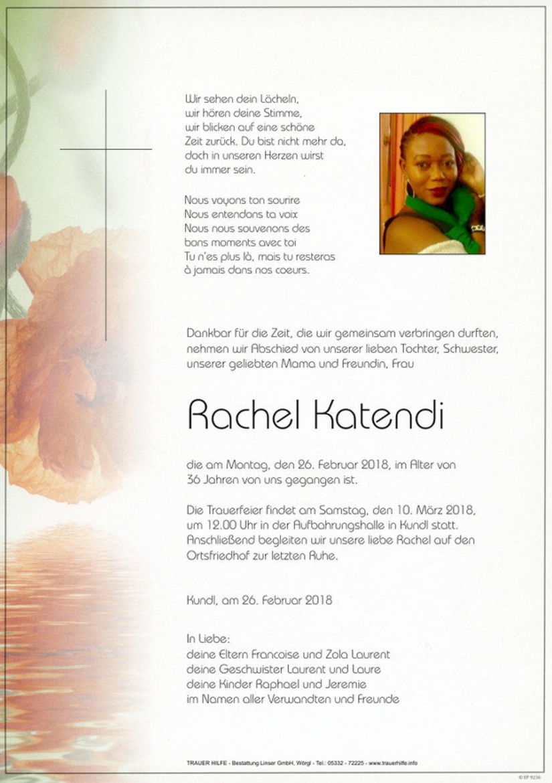 Rachel Katendi
