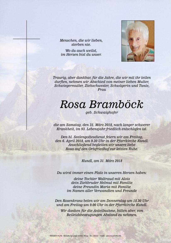 Rosa Bramböck