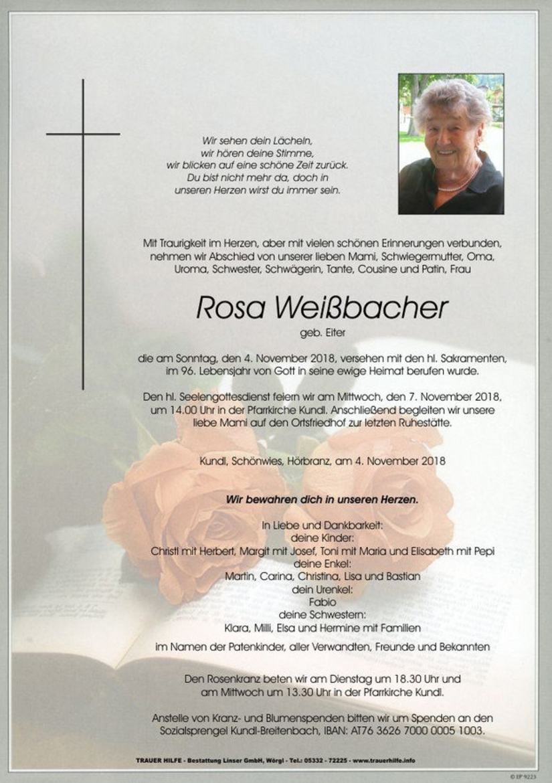 Rosa Weißbacher