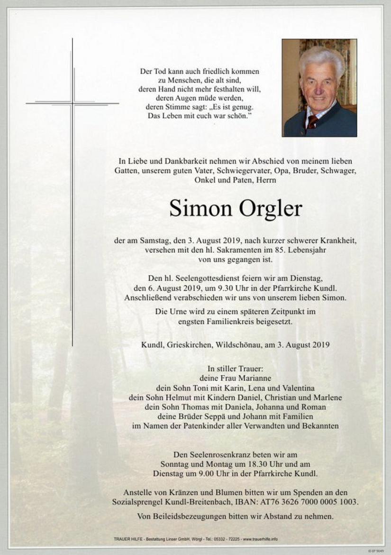 Simon Orgler