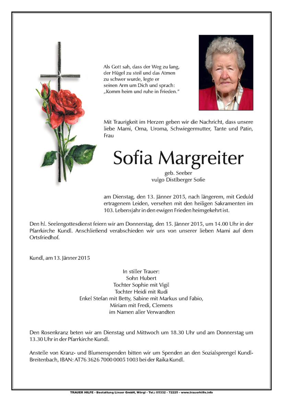 Sofia Margreiter