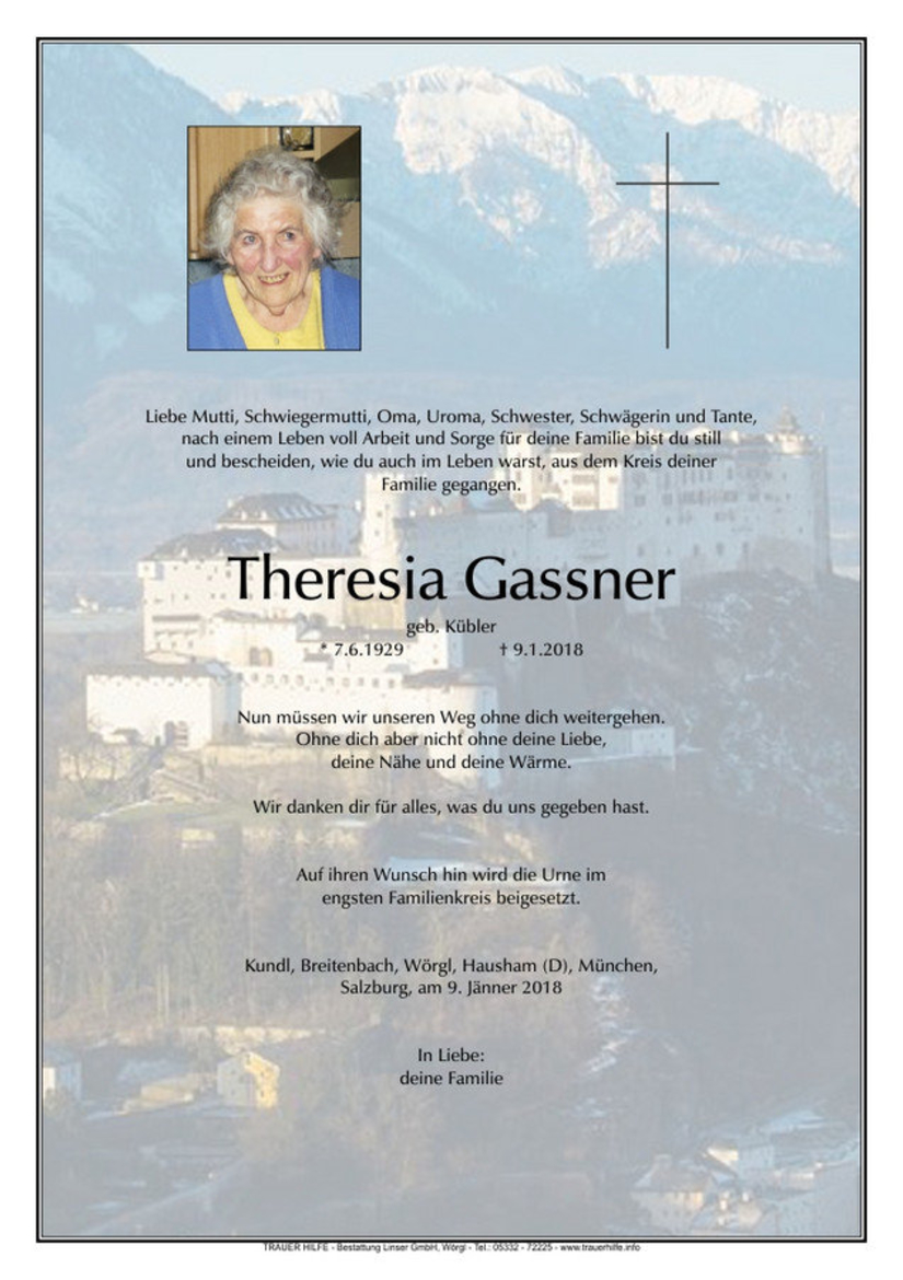 Theresia Gassner