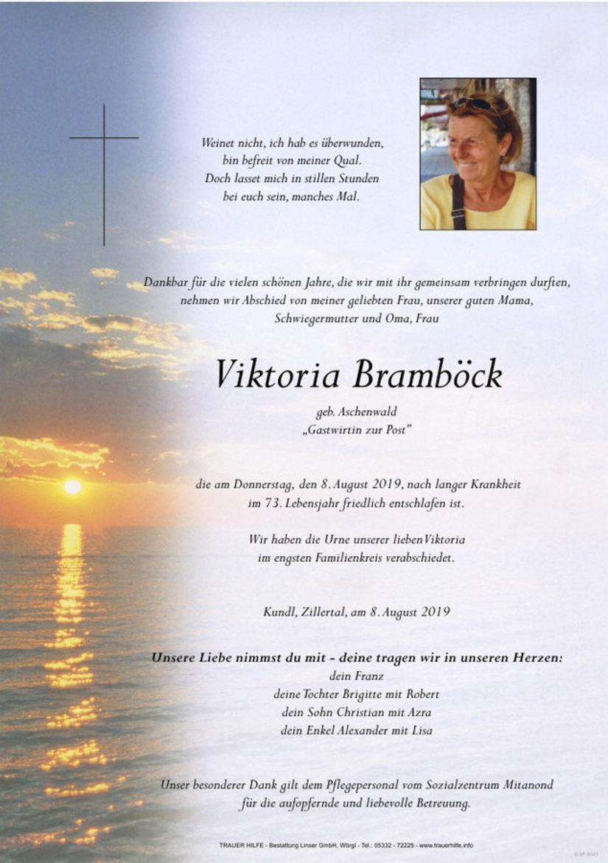 Viktoria Bramböck