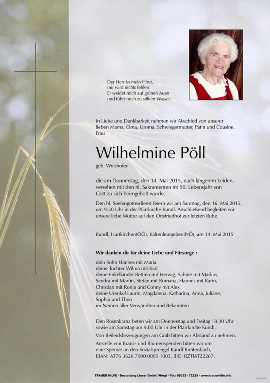 Wilhelmine Pöll
